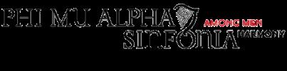 Phi Mu Alpha Sinfonia - Upsilon Phi Chapter Logo